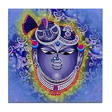 Shrinathji Face Square Tile Coaster