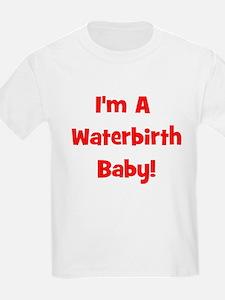 Waterbirth Baby! - Multiple C Kids T-Shirt