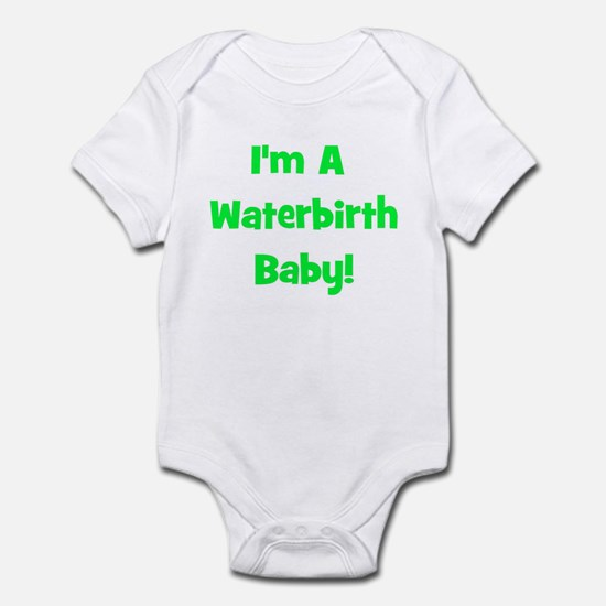 Waterbirth Baby! - Multiple C Infant Creeper