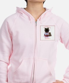 Cairn Terrier Good Morning Zipped Hoody