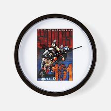 Bill D Stunts101 Wall Clock