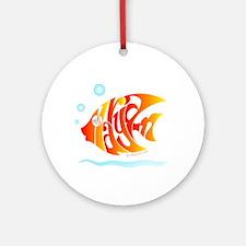 Maryam ( Goldfish) Ornament (Round)