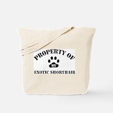 My Exotic Shorthair Tote Bag