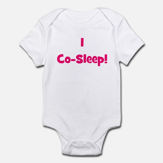 I Co-Sleep! - Multiple Color Infant Creeper