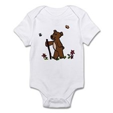 Bear Hiking Infant Bodysuit
