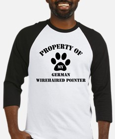 My German Wirehaired Pointer Baseball Jersey