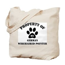 My German Wirehaired Pointer Tote Bag