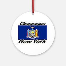 Chappaqua New York Ornament (Round)