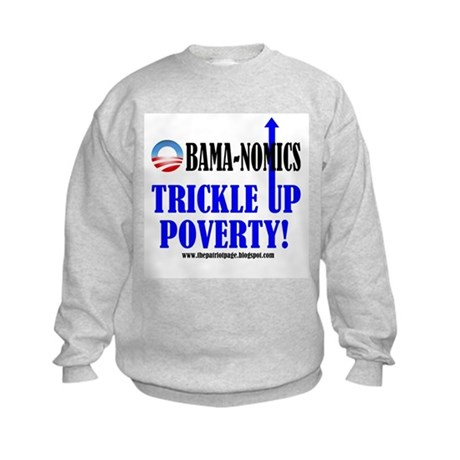 Obama-nomics Kids Sweatshirt