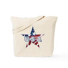 USA Star Tote Bag