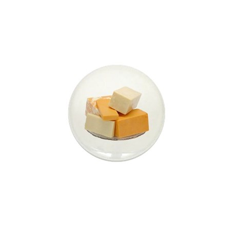 Some Cheese On Your Mini Button (100 pack)