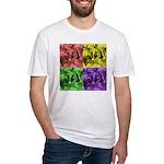 Pop Art Fitted T-Shirt
