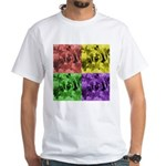 Pop Art White T-Shirt