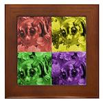 Pop Art Framed Tile