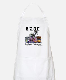 Big Zebra on Campus BBQ Apron
