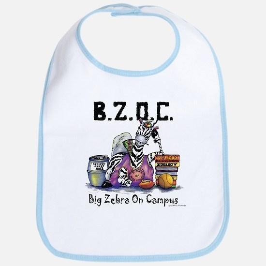 Big Zebra on Campus Bib
