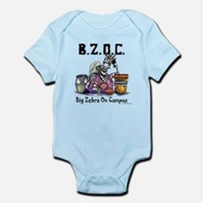 Big Zebra on Campus Infant Bodysuit
