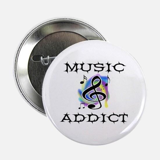 "MUSIC CRAZY 2.25"" Button"