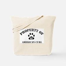 My American Curl Tote Bag