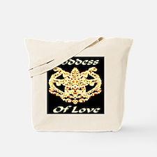 Goddess Of Love Tote Bag