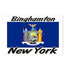 Binghamton New York Postcards (Package of 8)