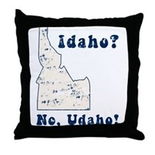 Vintage Idaho Throw Pillow