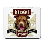 Diesel Pit Bull Stout Mousepad