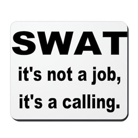 SWAT Mousepad