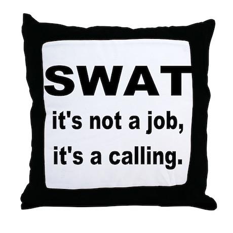 SWAT Throw Pillow