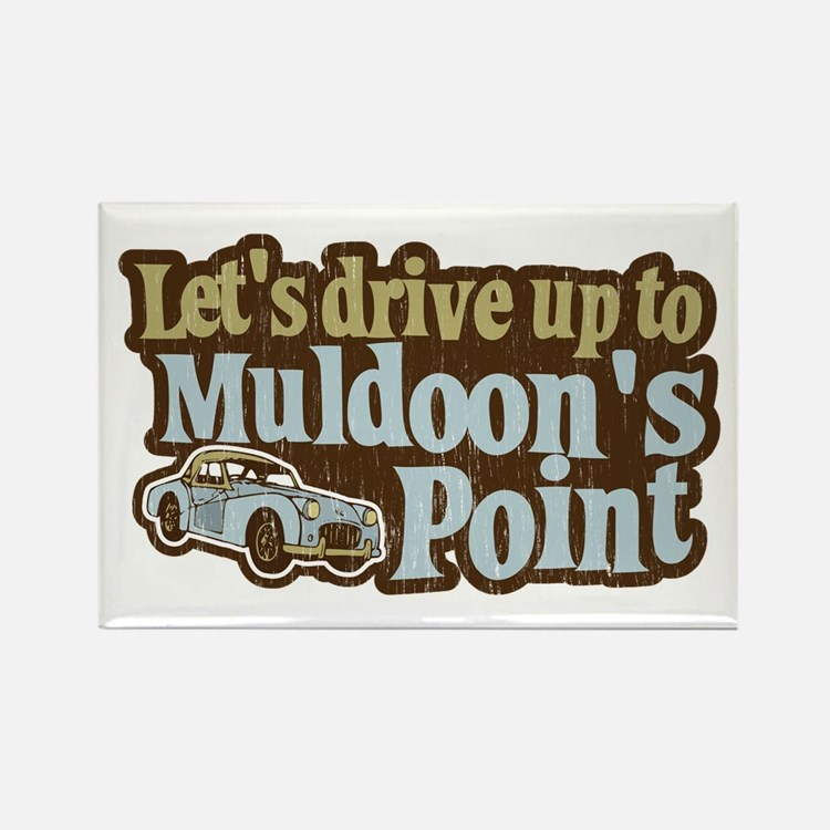 Muldoon's Point Rectangle Magnet