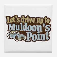 Muldoon's Point Tile Coaster