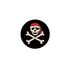 Funny Pirate Mini Button (10 pack)