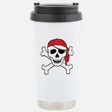 Funny Pirate Stainless Steel Travel Mug