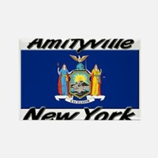 Amityville New York Rectangle Magnet