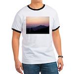 Mountain Sunset 2 Ringer T