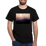 Mountain Sunset 2 Dark T-Shirt