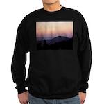 Mountain Sunset 2 Sweatshirt (dark)