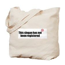 Is it or isnt it registered? Tote Bag