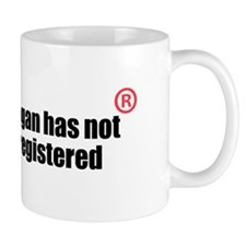 Is it or isnt it registered? Mug
