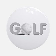 GOLF Ornament (Round)