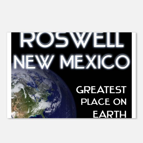 roswell new mexico - greatest place on earth Postc