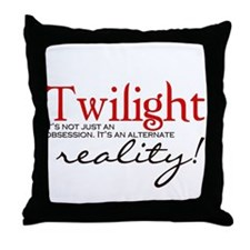 Twilight its not just an... Throw Pillow