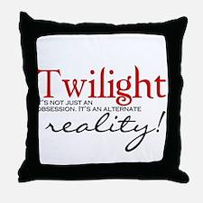 Twilight its not just an... Throw Pillow