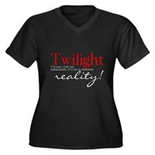 Twilight its not just an... Women's Plus Size V-Ne