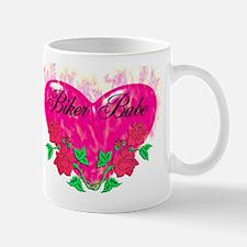 BIKER BABE HEART Mug