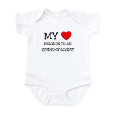 My Heart Belongs To An EPIDEMIOLOGIST Infant Bodys
