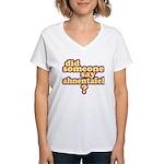 Someone Say Ahnentafel? Women's V-Neck T-Shirt