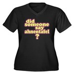 Someone Say Ahnentafel? Women's Plus Size V-Neck D