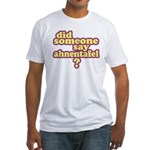Someone Say Ahnentafel? Fitted T-Shirt