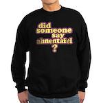 Someone Say Ahnentafel? Sweatshirt (dark)